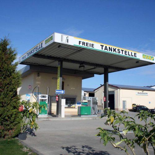 Buchaer Tankstelle